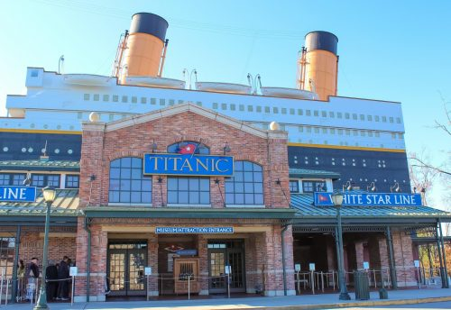 Titanic Museum, Pigeon Forge Tennessee