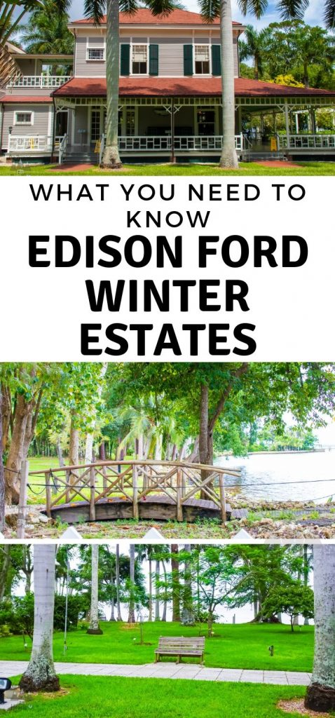 Edison Ford Winter Estatesis one of the most fun and educational places you can visit. It's a Southwest Florida hidden gems! Here is what you need to know. #florida #travel #edisonford #edisonfordestate #ourroaminghearts | Travel Florida | Florida | Edison Ford | Edison Ford Estate
