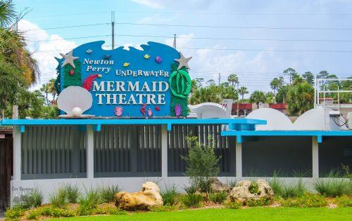 Weeki Wachee Mermaids Show Sign