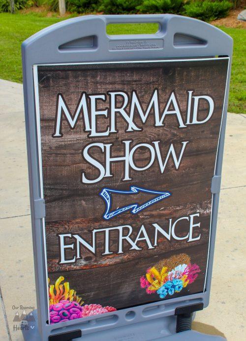 Weeki Wachee Mermaid Show Sign