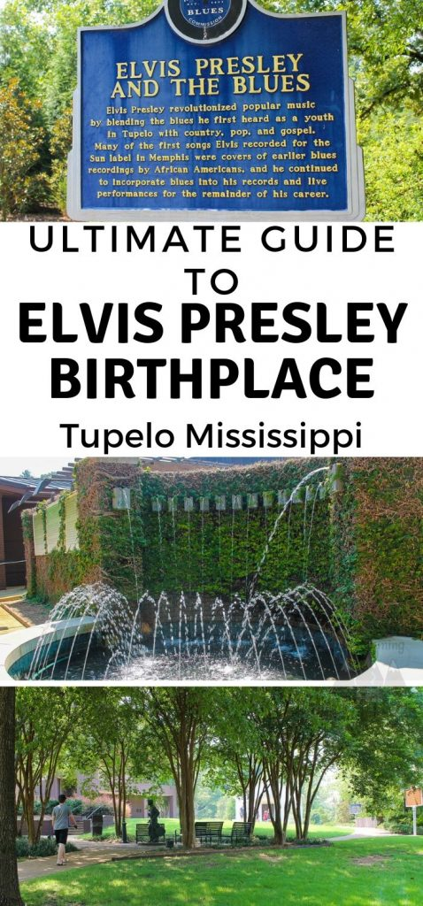Elis Presley was born in a small home and this birthplace of Elvis is now a historical museum dedicated to the singer. Use this Elvis Presley Birthplace guide when visiting. #elvis #elvispresley #tupleo #mississippi #ourroaminghearts | Mississippi | Tupelo | Elvis Presley | Birthplace of Elvis