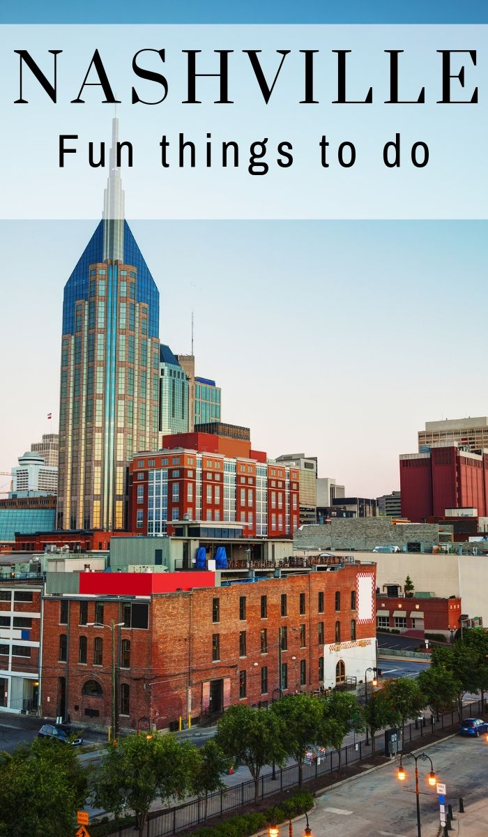 "Make the most of your time in Nashville. Use this extensive ""What do to in Nashville TN"" list and not miss any hot spots. It will be a trip of a lifetime! #ourroaminghearts #nashville #thingstodo #tennessee #whattodoinnashville 