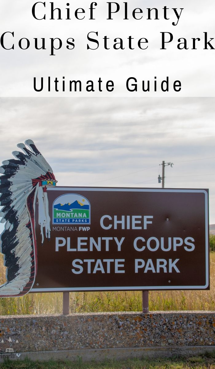 Chief Plenty Coups was considered the last traditional chief of the Crow Nation. Learn about his extraordinary life at the Chief Plenty Coups State Park.   #statepark #chiefplentycoups #montana #ourroaminghearts | State Parks | Montana State Parks | Chief Plenty Coups State Park | Pryor Montana | Chief Plenty Coups