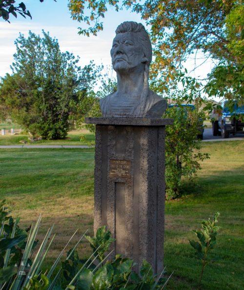 Chief Plenty Coups Statue