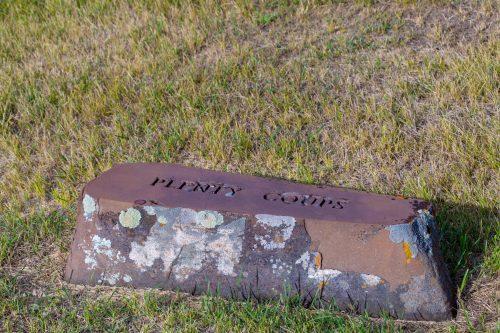Chief Plenty Coups Grave