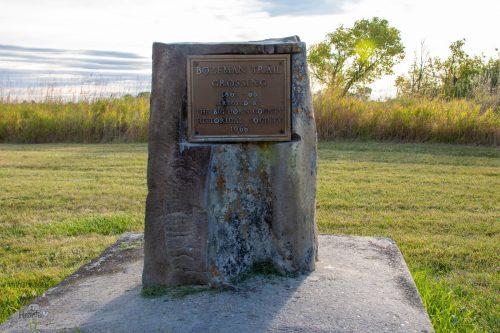 Bozeman Trail Marker