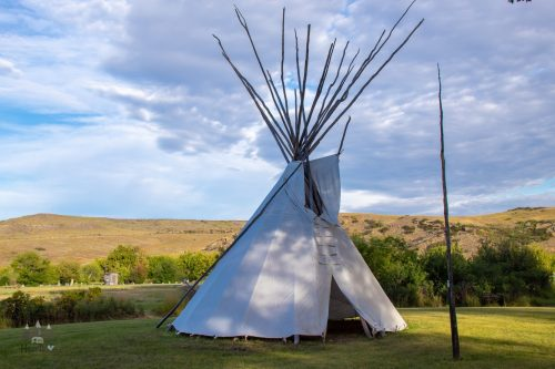 Chief Plenty Coups State Park Teepee