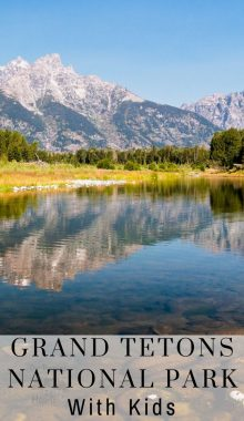 Planning a trip to theGrand TetonsNational Park with your kids? Take a look at 12 safety and fun tips to make sure everyone has an awesome time.#ourraminghearts #grandtetons #nationalpark #travelingwithkids #grandtetonsnationalpark #wyoming | Grand Tetons National Park | National Parks | Wyoming Travel | Traveling with Kids | Family Travel | Grand Tetons