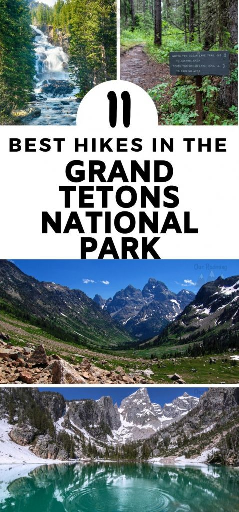 How about making your next epic adventure to Grand Tetons National Park in Wyoming? Take a look at our list of the best hikes in Grand Teton National Park. #hiking #ourroaminghearts #grandtetonsnationalpark #wyoming #nationalpark | Wyoming Hiking | Grand Tetons National Park | Hiking in the Grand Tetons | National Parks