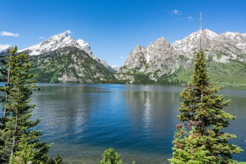 Jenny Lake in Teton National Park