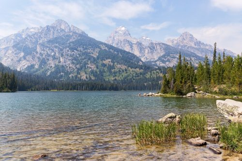 Taggart Lake, Grand Teton National Park, Wyoming, USA