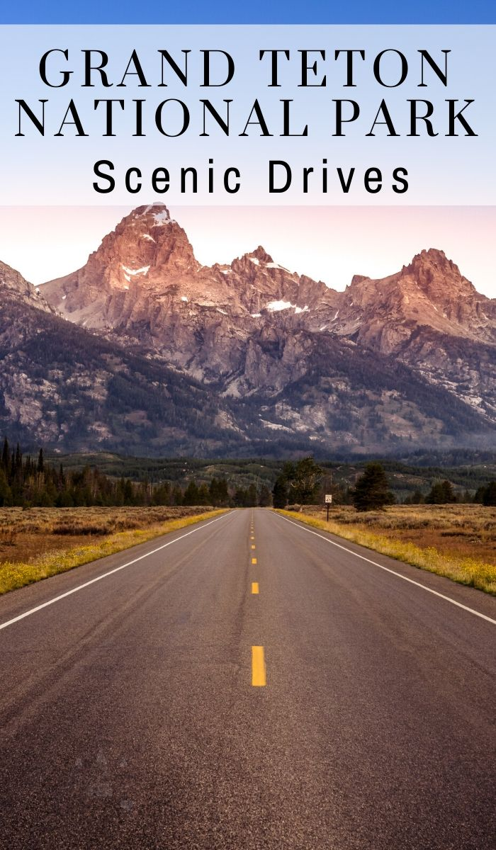 No matter what stretch of pavement you decide to take, you are in for a treat. Here's a look at some of the Grand Teton National Park scenic drives. #grandtetons #nationalpark #scenicdrive #ourroaminghearts #wyoming | Wyoming | Grand Tetons National Park | National Parks | Scenic Drives | Grand Tetons