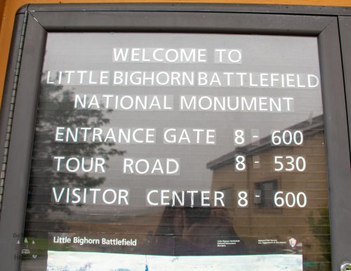 Little Bighorn Visitors Center