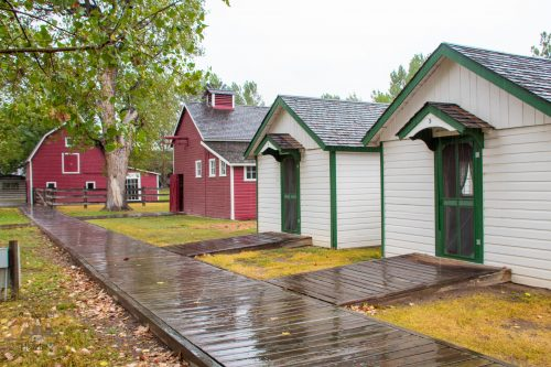 Camp Custer Cabins