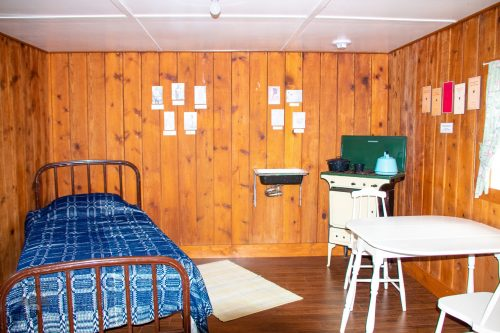 Camp Custer Cabins - Big Horn County Museum - Hardin Montana