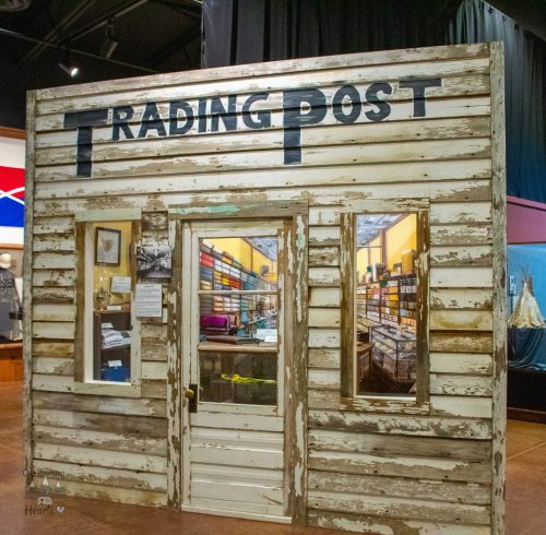 Trading Post - Big Horn County Museum - Hardin Montana
