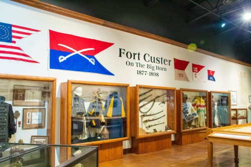 Fort Custer on Big Horn Exhibit