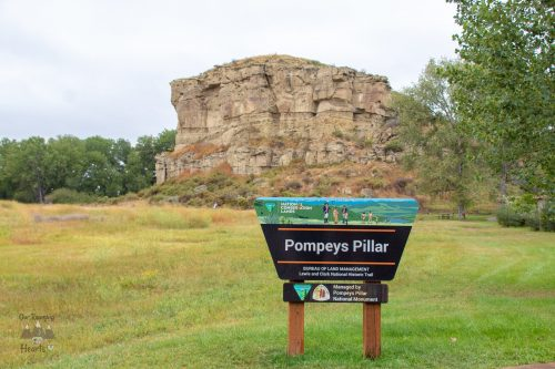 Visiting Pompeys Pillar National Monument - Billings Montana
