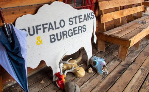 Trading Post Cafe, Buffalo Steaks and Burgers