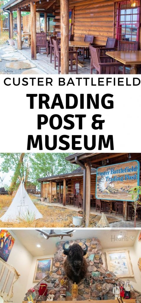 Visiting Little Bighorn Battlefield? Be sure you stop by the Custer Battlefield Trading Post and Custer Battlefield Museum. It's worth the visit!   #ourroaminghearts #littlebighorn #custerbattlefield #museum #montana #billings | Things to do in Billings, MT | Little Big Horn Battlefield | Custer Battlefield Trading Post | Custer Battlefield Museum | History of Montana