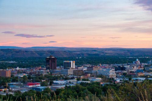 Billings Montana Sunset
