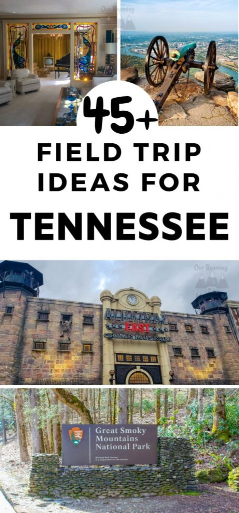 I love to keep my kids learning when on vacation and with Tennessee being one of our favorite states to visit we have a lot of great Tennessee Field Trip locations on our list. Tennessee being one of our favorite states to visit we have a lot of great Tennessee Field Trips to share. This is our extensive list and then a few more! #ourroaminghearts #tennessee #roadshooling #homeschoolunit #fieldtripideas
