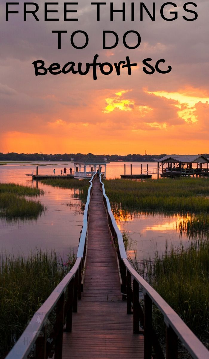 Beaufort SC is known for its delightful cuisine and historic design, also a rich African American heritage. Here are 14 free things to do in Beaufort SC. #southcarolina #beaufort #freethingstodo #thingstodo #southcarolinatravel #ourroaminghearts | South Carolina Travel | Frugal Travel | Free things to do | Beaufort South Carolina |