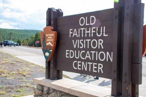 Olf Faithful Visitor Center